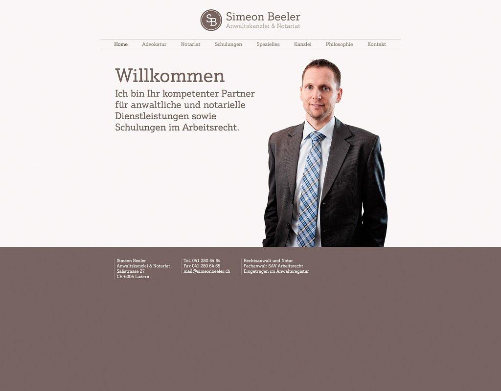 Simeon Beeler Anwaltskanzlei und Notariat