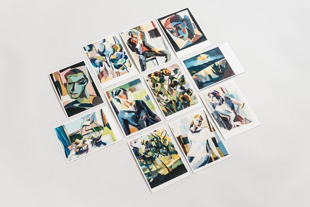 Austellungsplakate und Kunstkarten