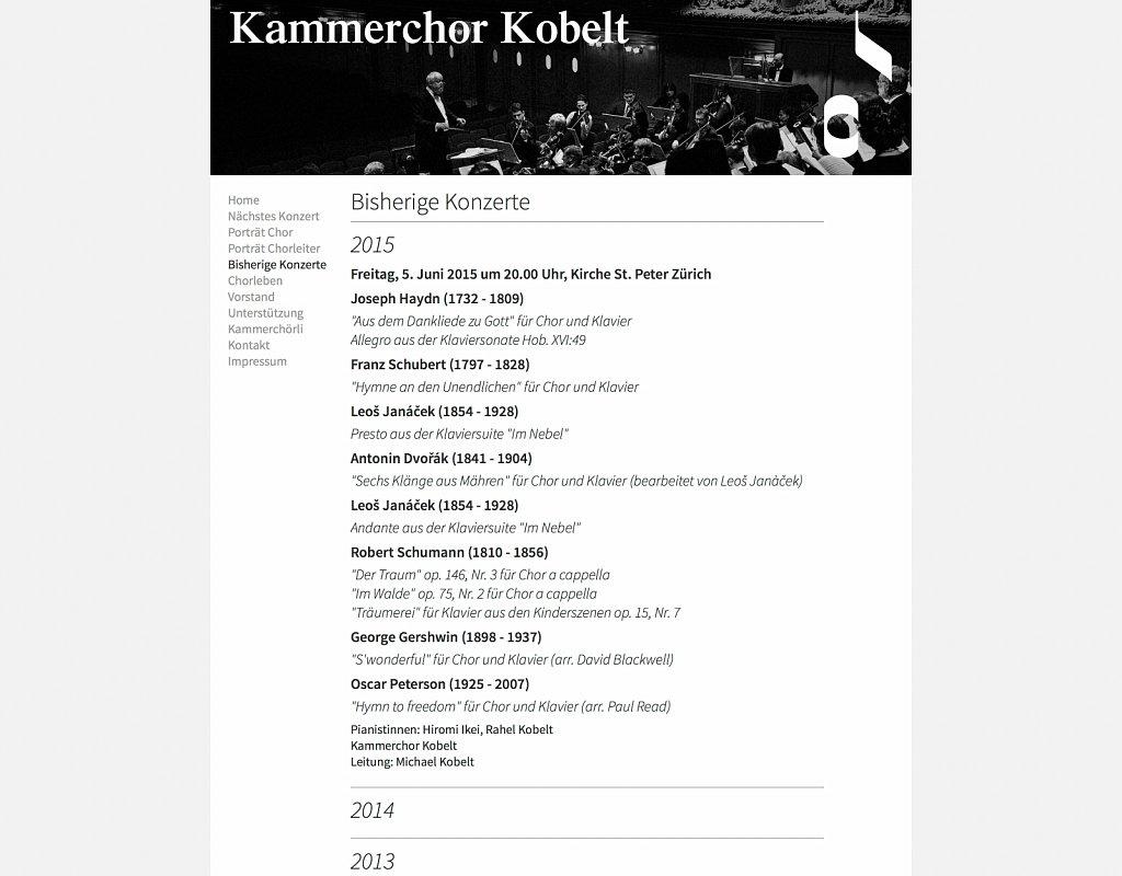 Kammerchor Kobelt